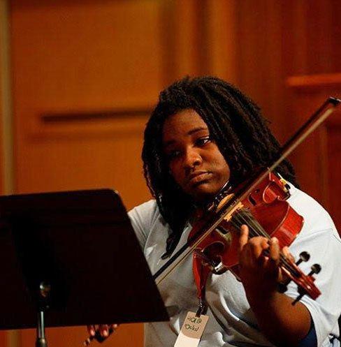2019 Scholarship Winner Cameren Williams from The Juilliard School